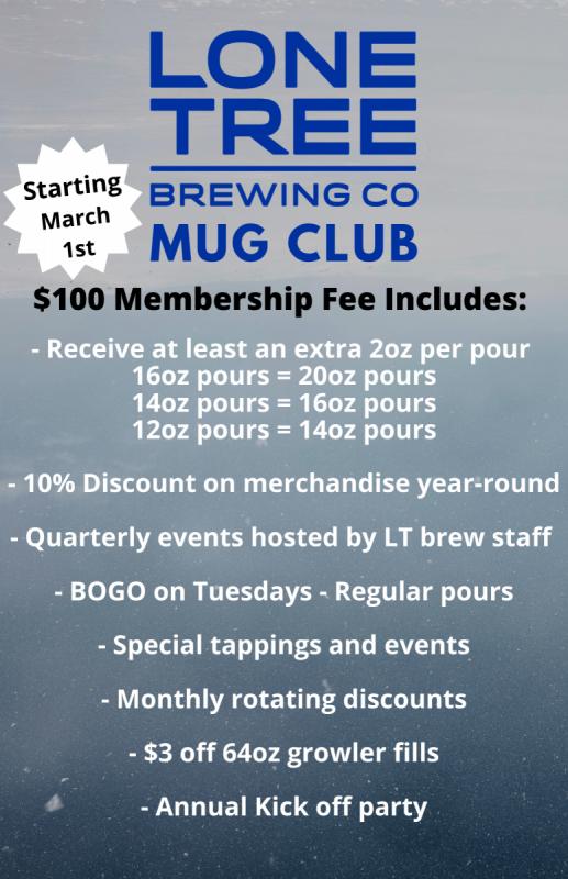 Mug Club Membership